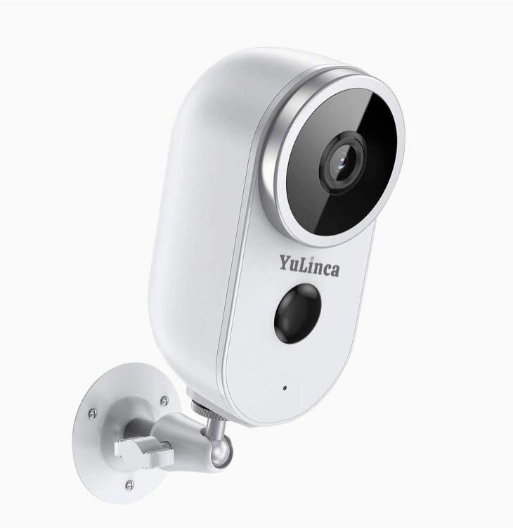 Wireless Battery Security Camera, Rechargeable, 1080P HD 2-Way Audio, Night Vision, Motion Detection