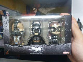 wts hot toys cosbaby batman MIB