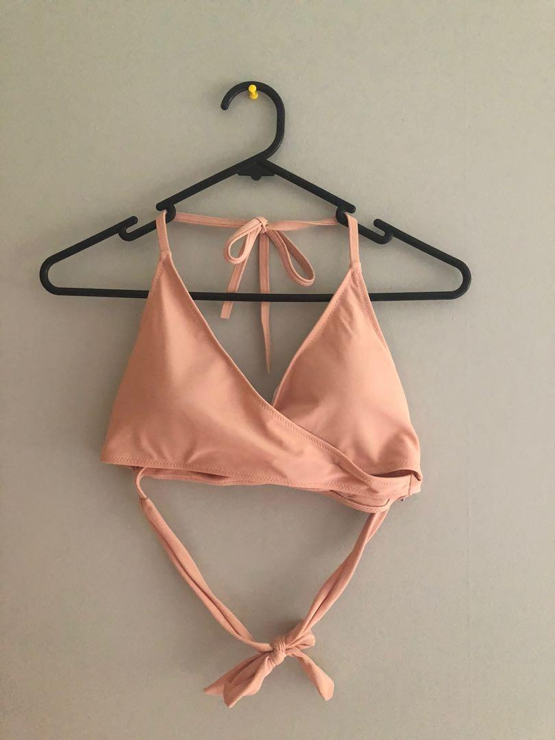 Zaful wrap bikini top