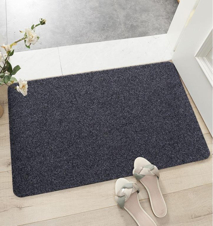 <50 x 80cm>Sand scraping pad at the door 全新門口刮沙墊 (Dark blue) Shipped within 24 hours