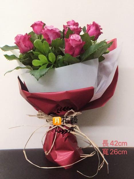 鮮花玫瑰花束  情人節花束 生日花束 婚禮花束 活動花束