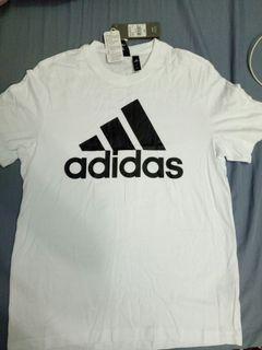 Adidas logo 白色短T