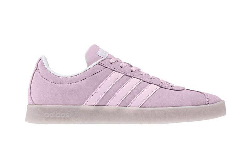 adidas vl court 2.0 pink, Women's