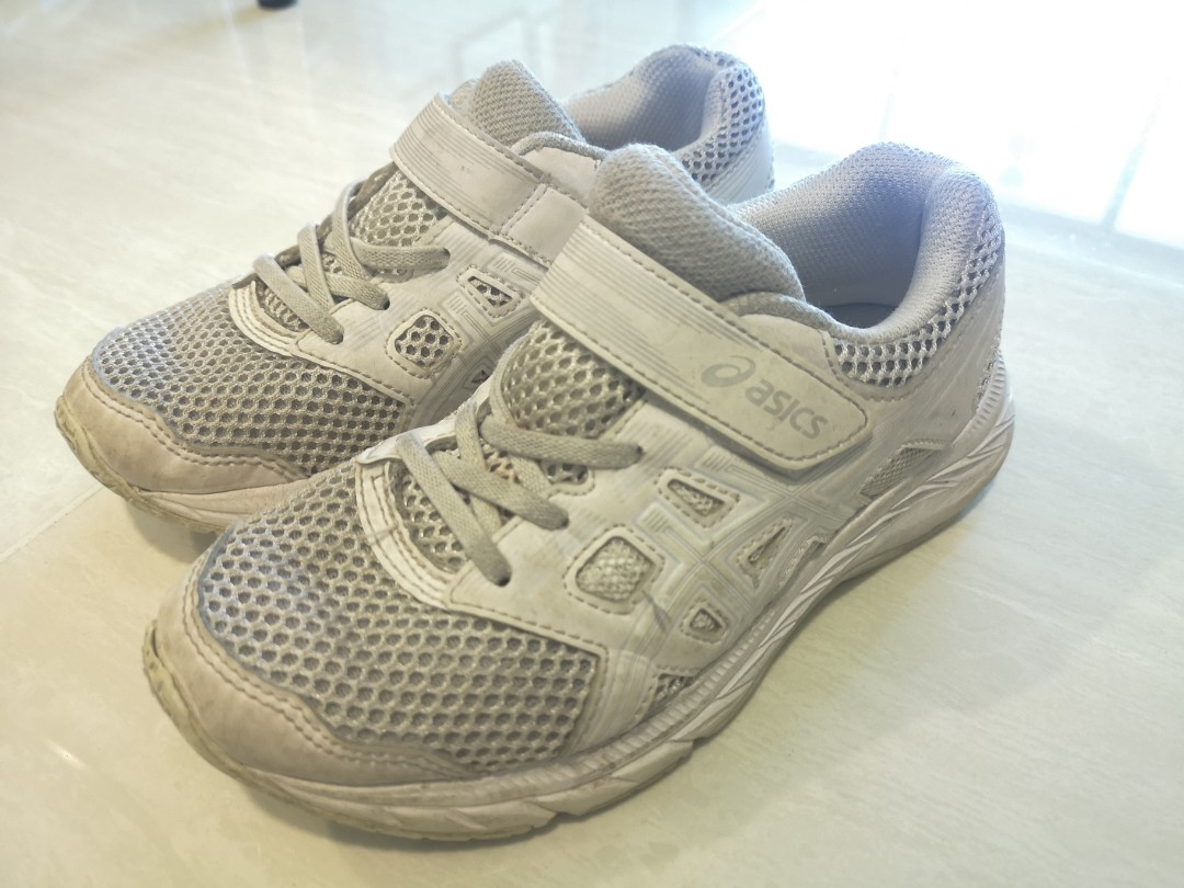 Asics white school shoes, Babies \u0026 Kids