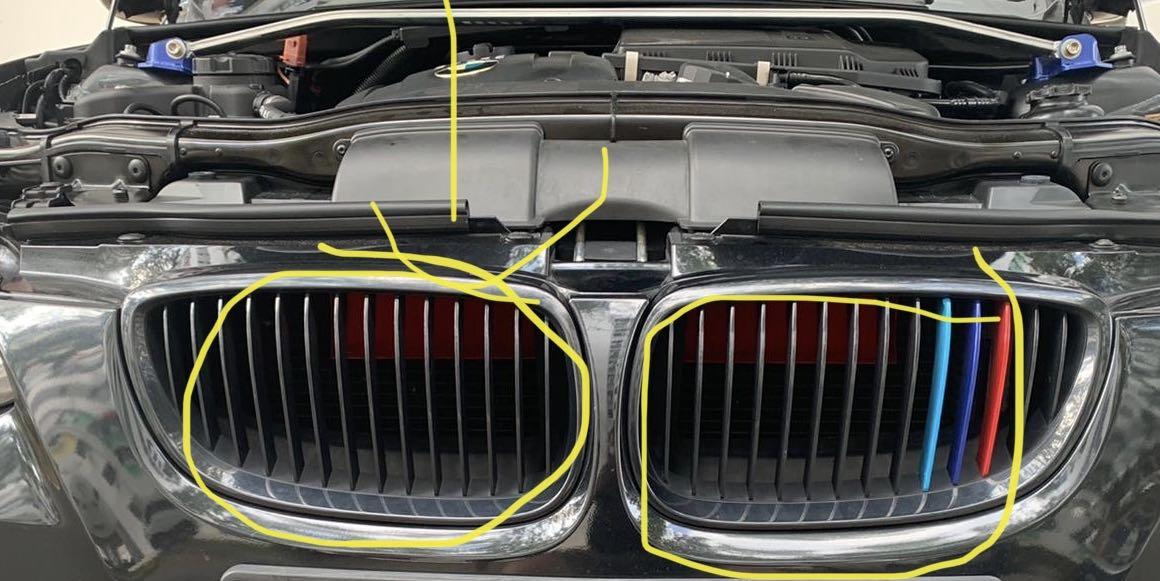 Bmw E90 E91 E92 E93 E84 Air Scoop Ram Air Cold Air Intake Car Accessories Accessories On Carousell