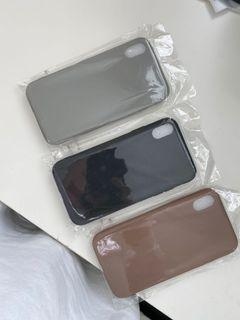 Brand new smooth matte IPhone XR and IPhone X cases