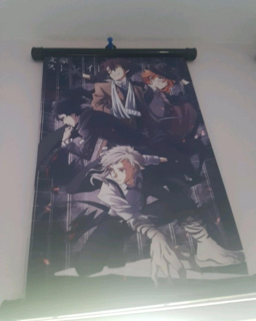 bungo stray dogs poster - anime