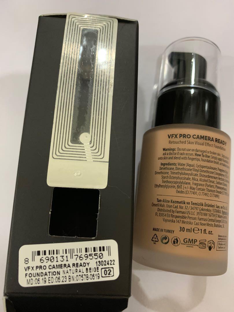 Farmasi Fcc Makeup Foundation Vfx Pro Health Beauty Makeup On Carousell