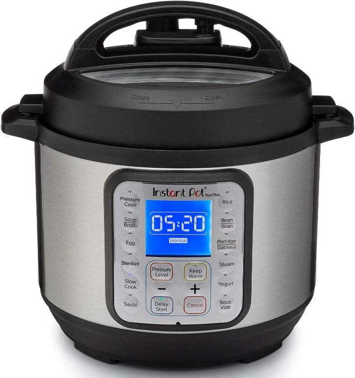 Instant Pot Duo Plus 30 9 In 1 Multi Use Pressure Cooker 3l Soup Broth Meat Stew Saute Rice Porridge Oatmeal Steam Slow Cook Yogurt Keep Warm Sterilizer Egg Pressure Cook Sous Vide Home Appliances Kitchenware On