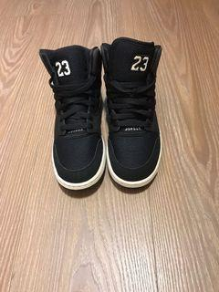 Jordan X Nike 黑色 高筒 休閒運動鞋 23.5