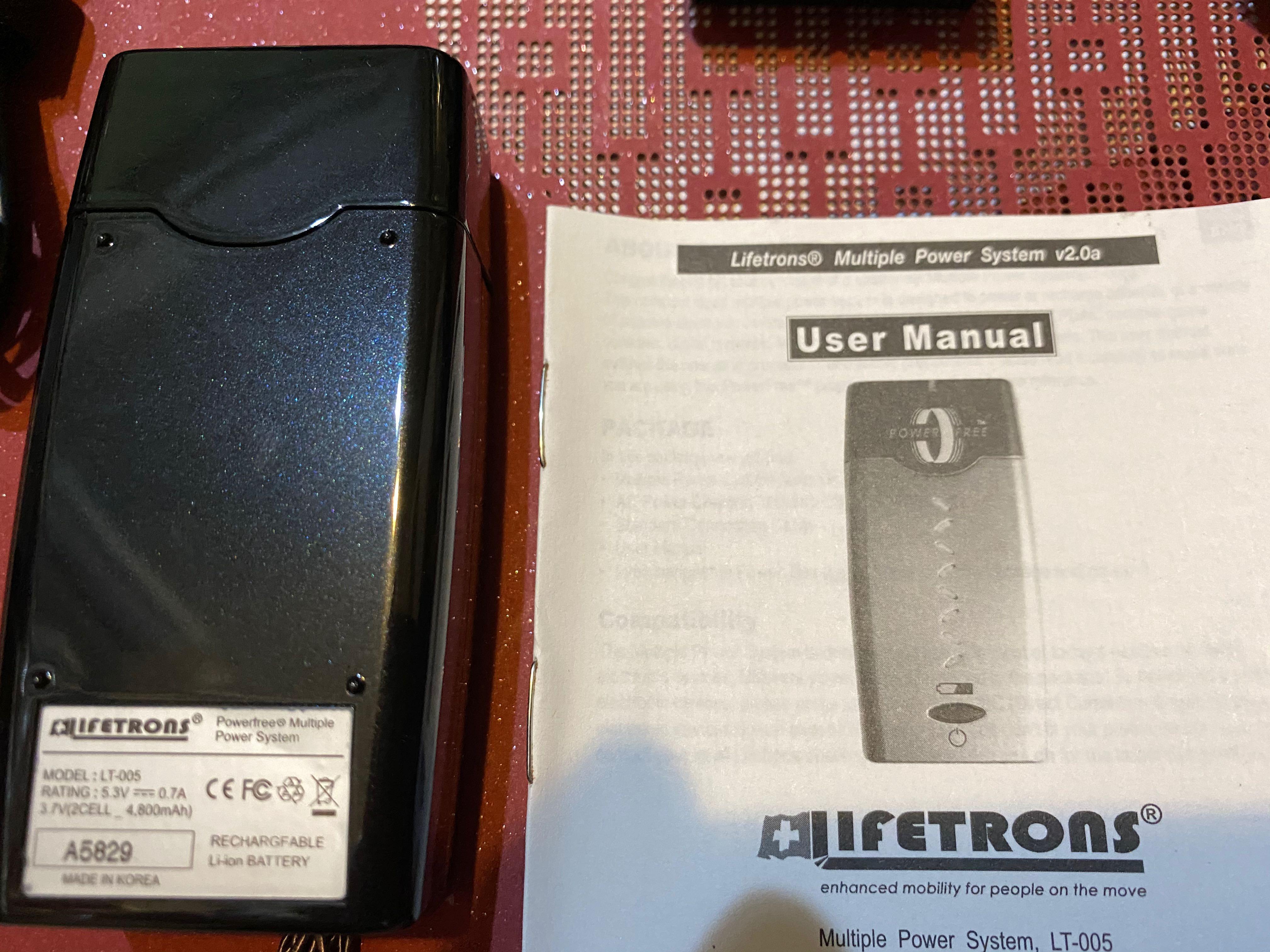 Lifetrons】瑞士牌多國萬用插頭