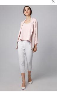 Look boutique blazer dusty pink