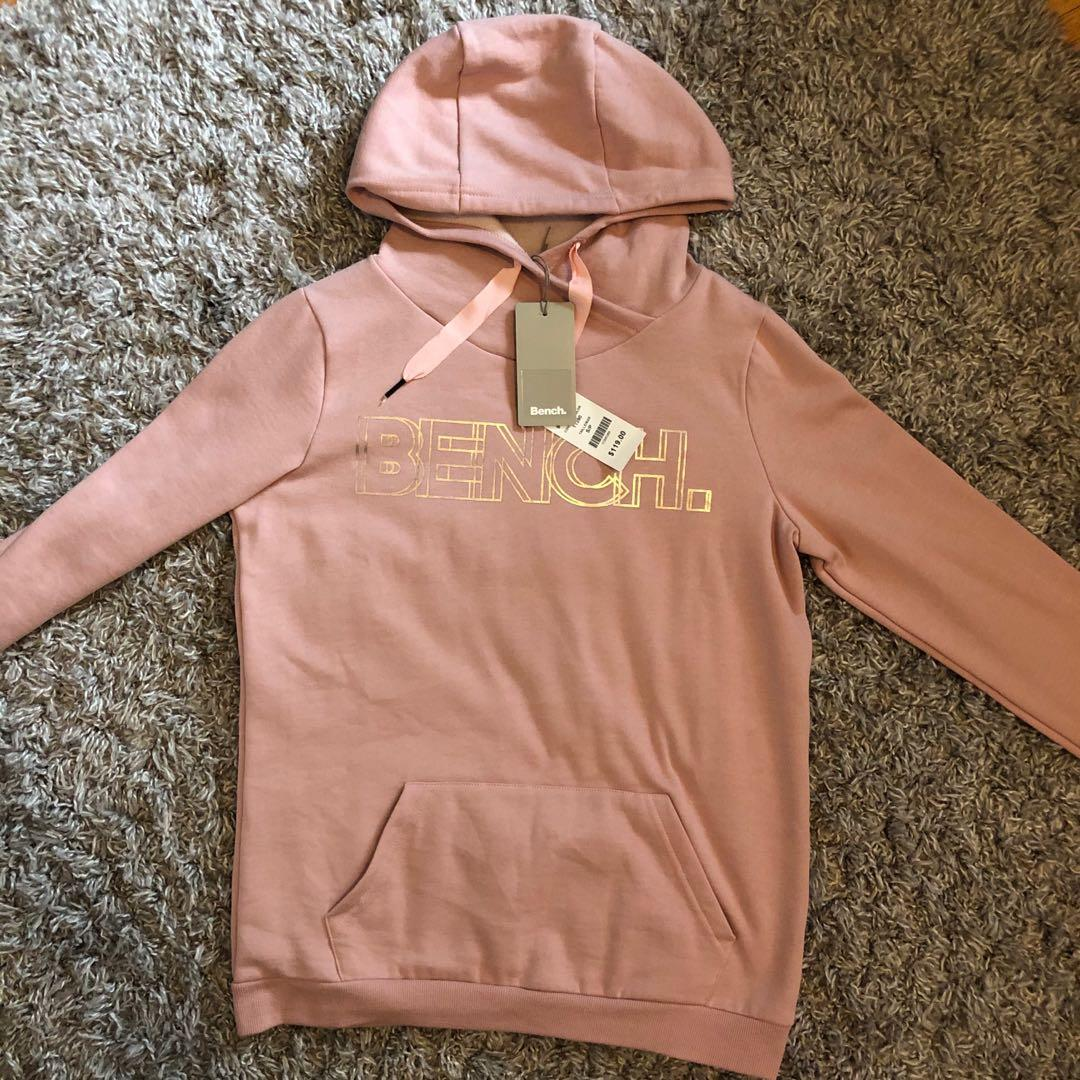 PINK BENCH HOODIE