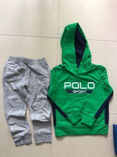 Polo fleece pullover 只洗過,未著過加Uniqlo cotton pants