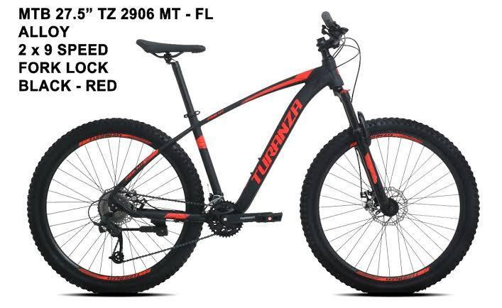 Sepeda Gunung MTB Turanza 2906 MT 27,5 Bisa cicilan DP 200rb