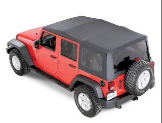 Soft top for Jeep Wrangler 4DR