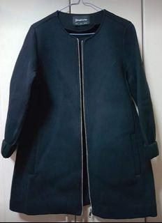 Stradivarius black coat