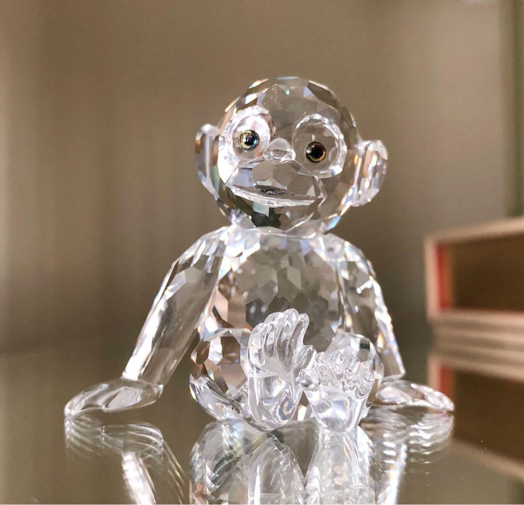 Reduced!  Swarovski  Chimpanzee.  Perfect condition.