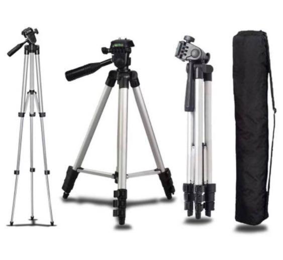 Tripod HP dan Kamera Universal + holder U dan tas tripod dudukan kamera