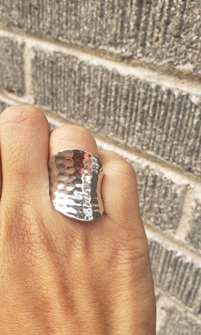 Vintage Hammered Ring
