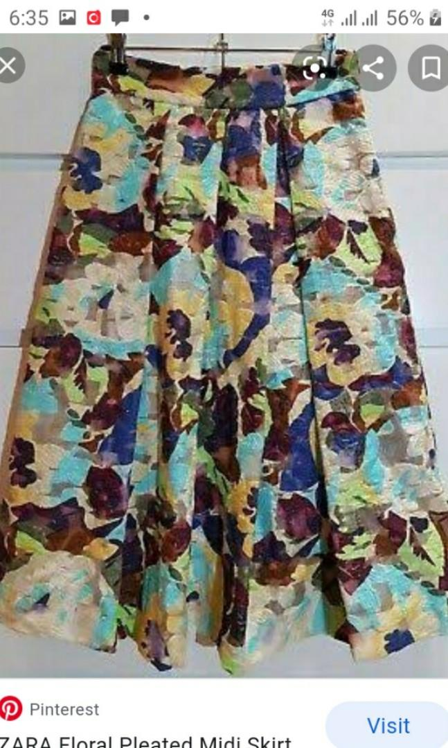 Zara Midi Skirt Rok