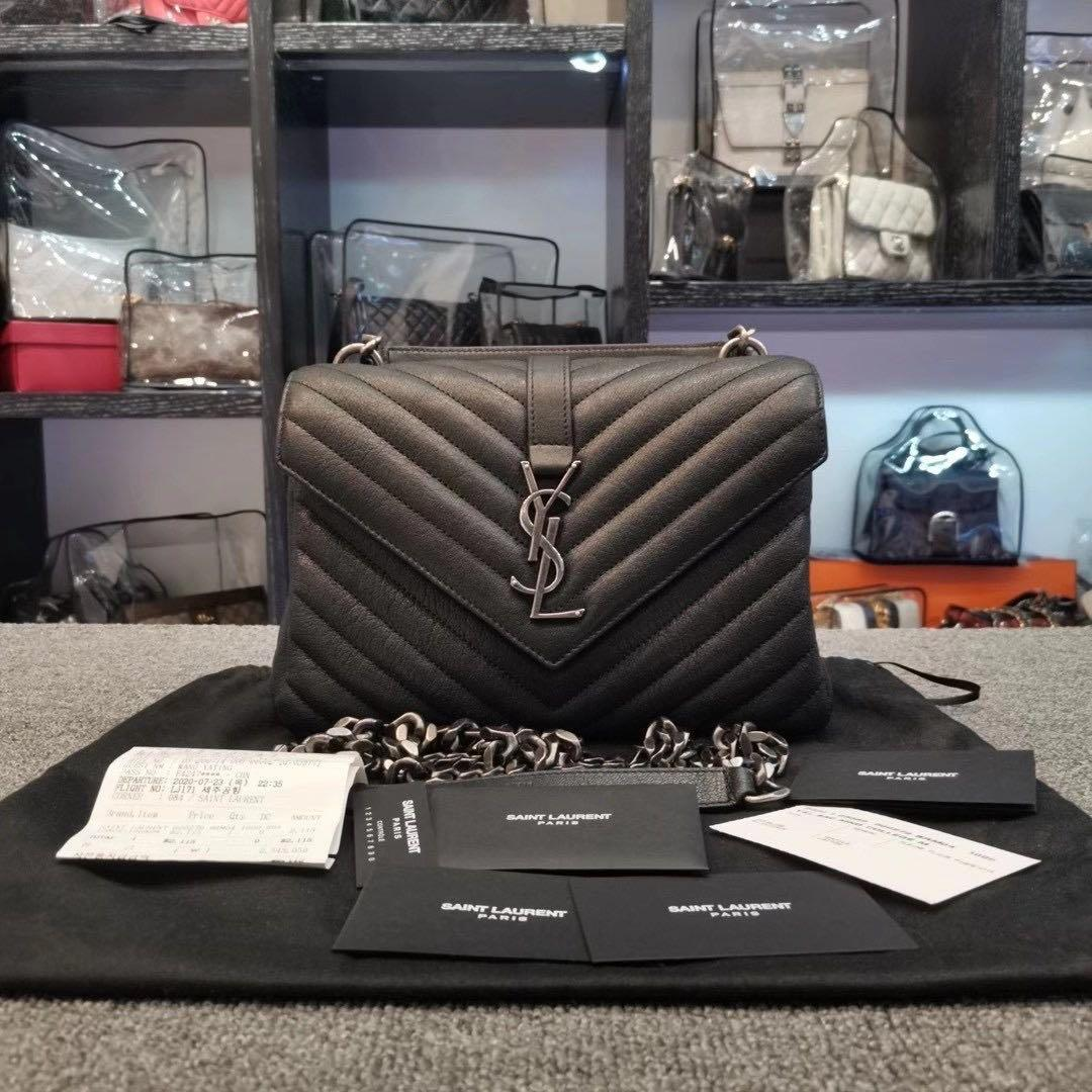🎀🎀 authentic ysl collage bag - new