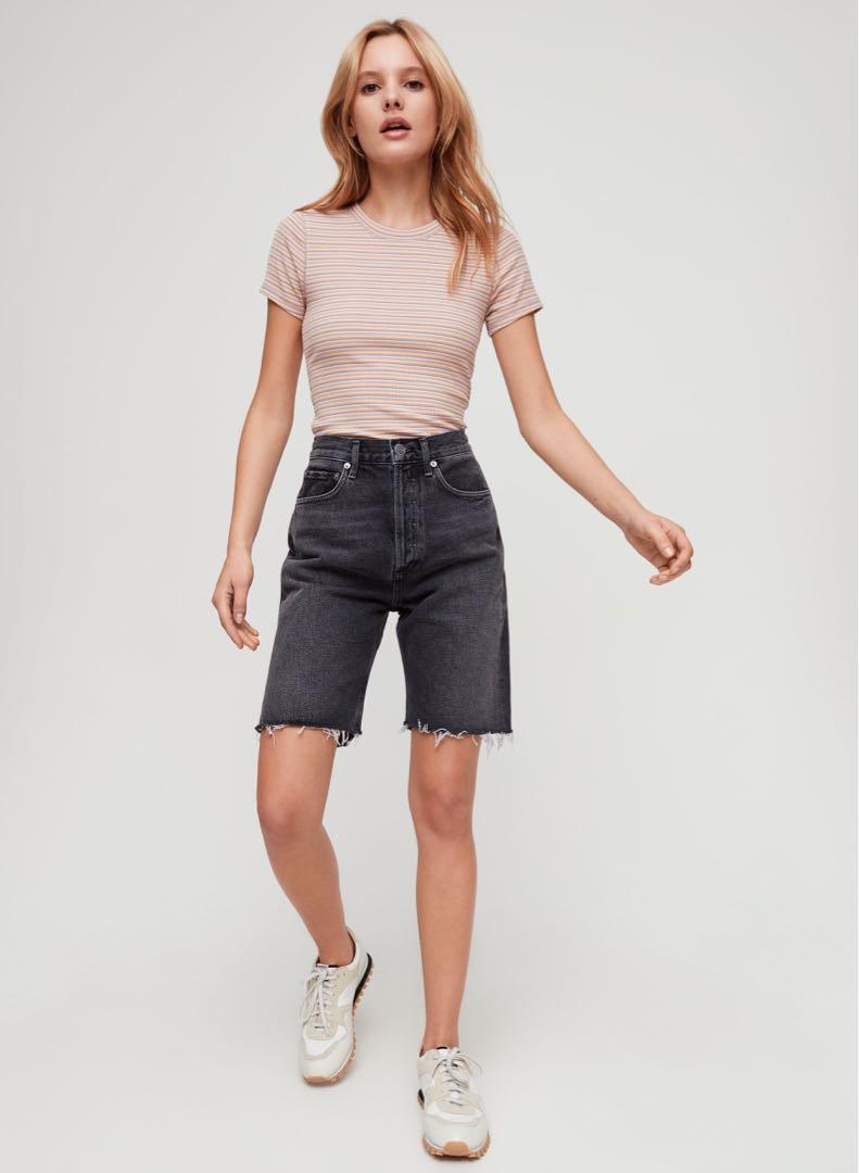 Agolde  90s helix shorts