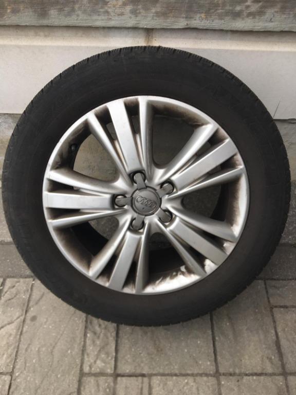 All Season Michelin Tires(4)+Rims+Audi Q7 Mats