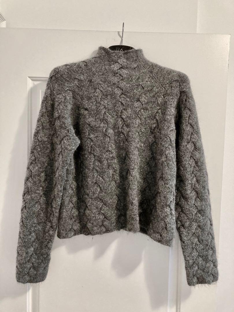Aritzia Wilfred Free wool and alpaca blend sweater - size M
