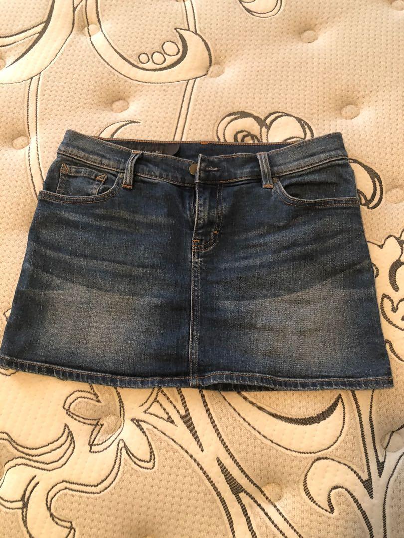 Armani Exchange denim skirt, size 2