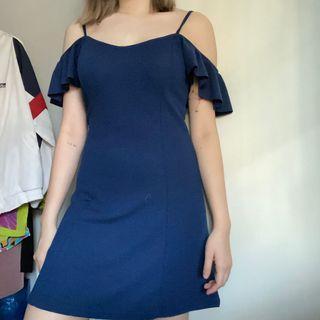 Bershka Off Shoulder Aline Dress