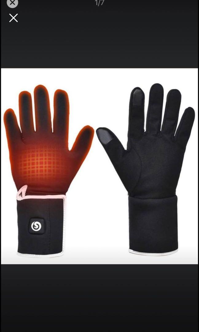 Brand new Heated Glove Liners,7.4V 2200MAH Electric Rechargeable Battery Heating Liners (Size L)