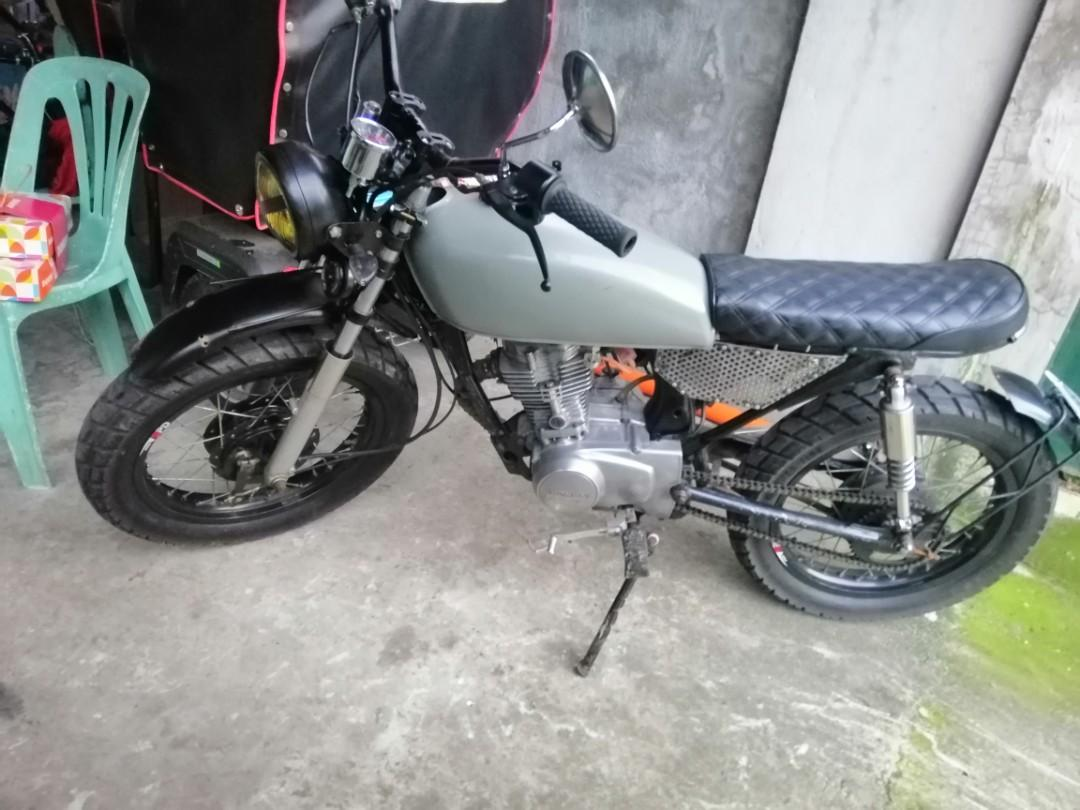 Cafe Racer Tracker Tmx 155 Motorbikes Motorbikes For Sale On Carousell