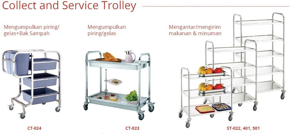 COLLECT AND SERVICE TROLLEY -- ST501