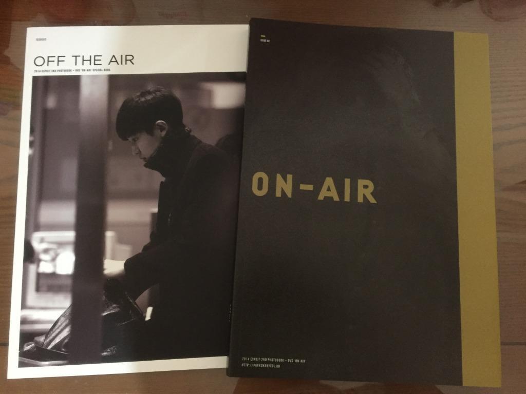 EXO 相冊 燦烈 韓站 ESPRIT 2nd ON-AIR PB