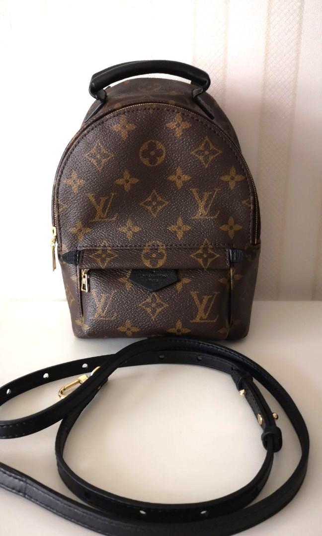 Fast deal $2450! Full Set LN LV Louis Vuitton Palm Springs Mini