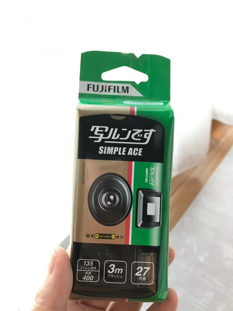Fujifilm disposable camera sekali pakai
