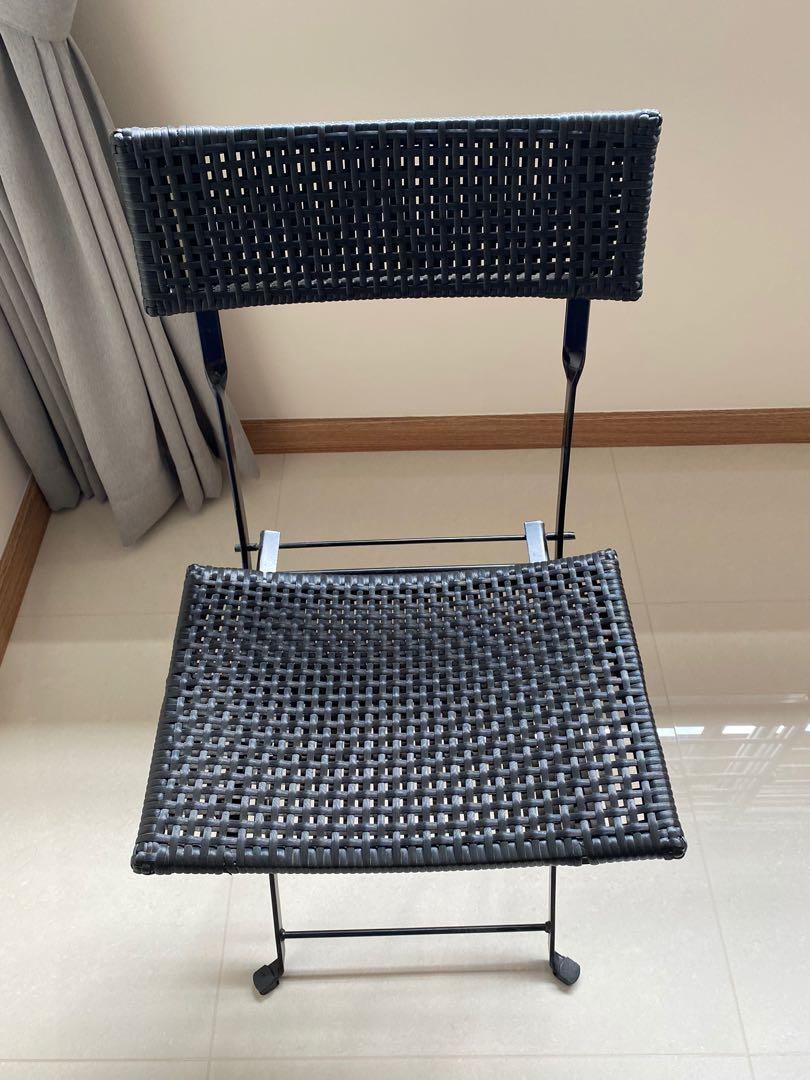 Ikea Foldable Chair Furniture Tables Chairs On Carousell