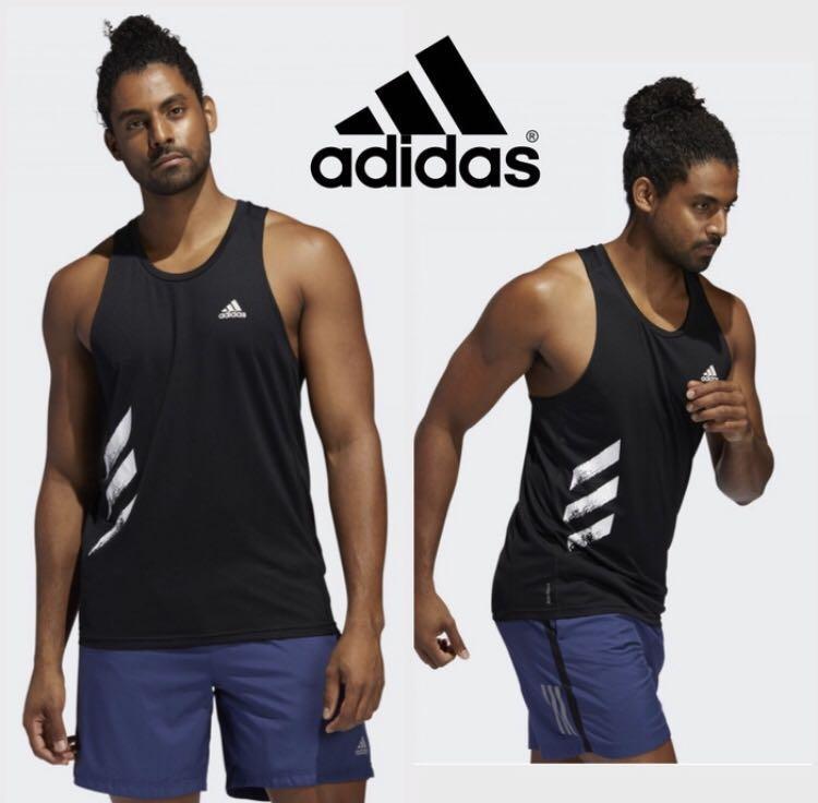 Kaos singlet adidas claw / kaos gym adidas