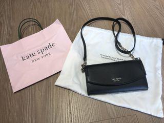 Kate spade 荔枝皮 woc  斜背小包