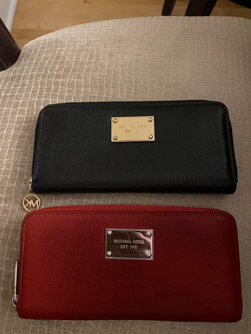 MK PURSES AND WALLETS & coach bag