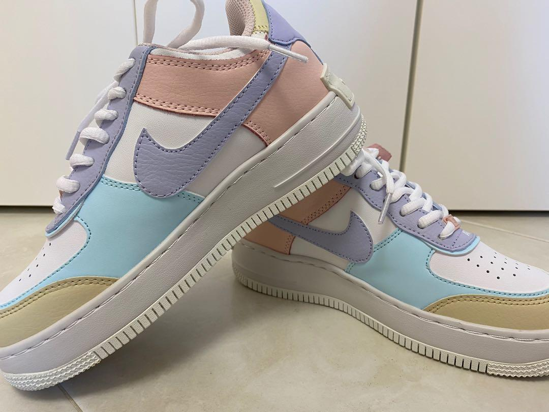 Nike Air Force 1 Shadow Women S Fashion Shoes Sneakers On Carousell Double detailing from the eyelets to the swooshes to the platform height redefines a sneaker inspired by the force of change women bring to their communities. carousell