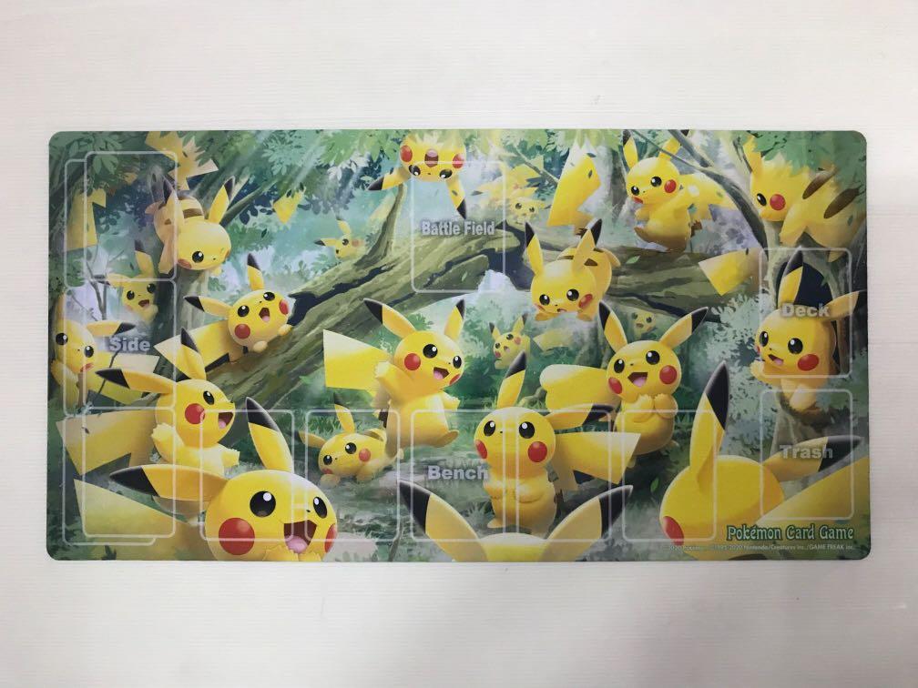 Pokemon Card Game Rubber Play Mat Set Saito