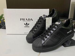 Prada for Adidas Superstar (Core Black) ON HAND