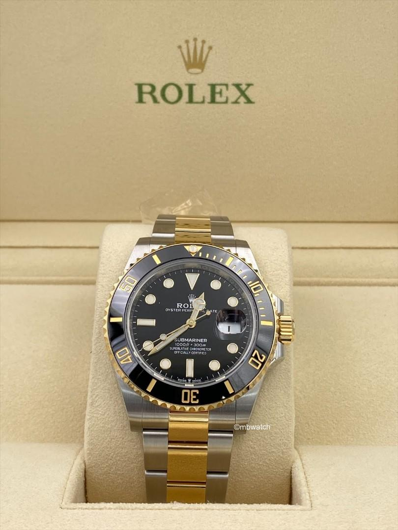 Unworn Rolex Submariner (2020) 126613LN 126613