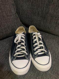 Sepatu Converse Black Original 100%