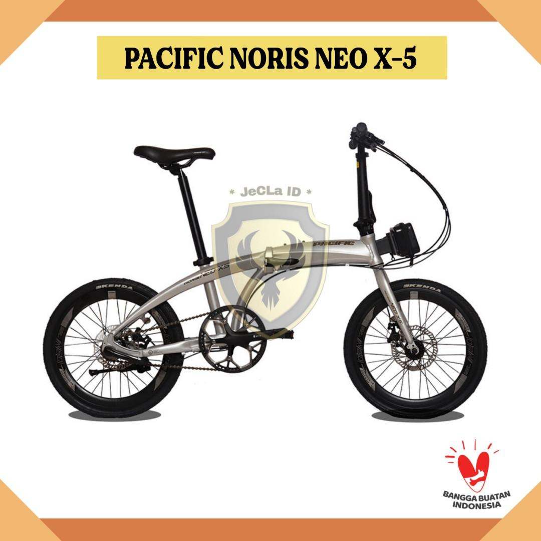 Sepeda Lipat 20 PACIFIC NORIS NEO X-5 (Cash/Credit) DP Cuma 750rb