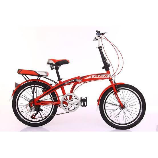 Sepeda Lipat Trex XT-7 Bisa cicilan Promo DP cuma 100 rb