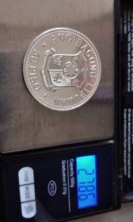 Silver proof coin