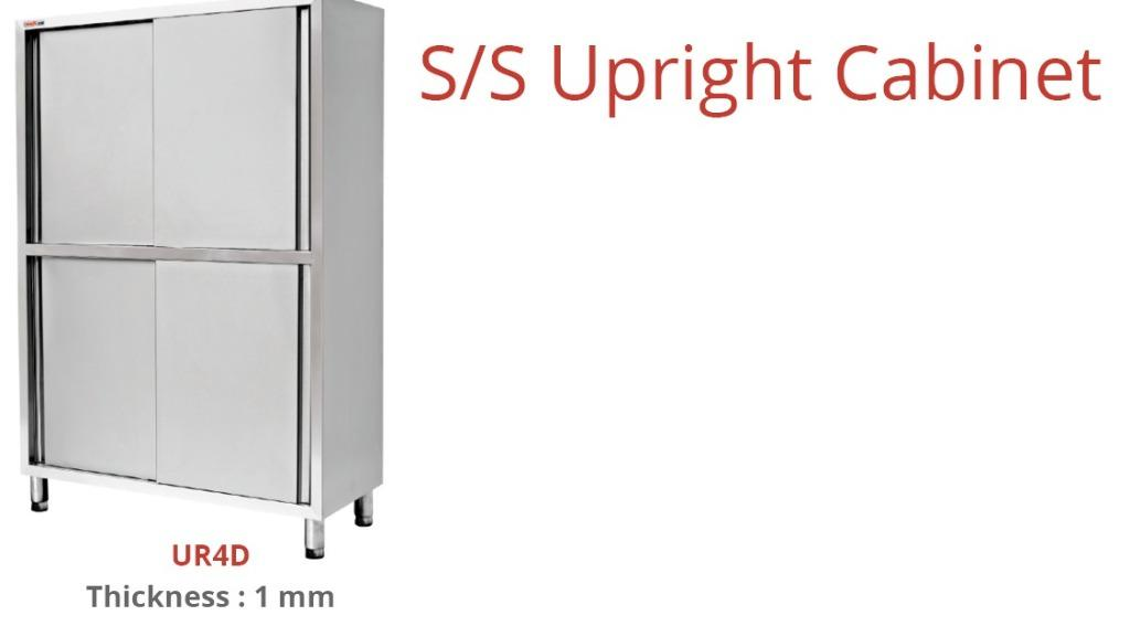 S/S UPRIGHT CABINET (UR4D)